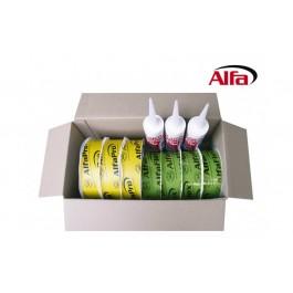 Alfa Sortimentspaket Qualitätsprodukte für eine luftdichten Gebäudehülle